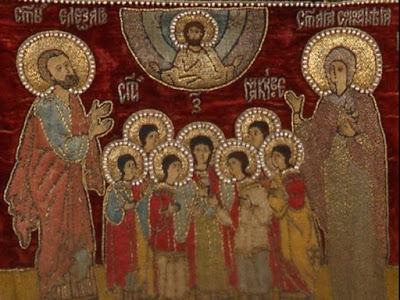 Saint Cecilia, 3rd Century Roman Martyr, Patron of Musicians