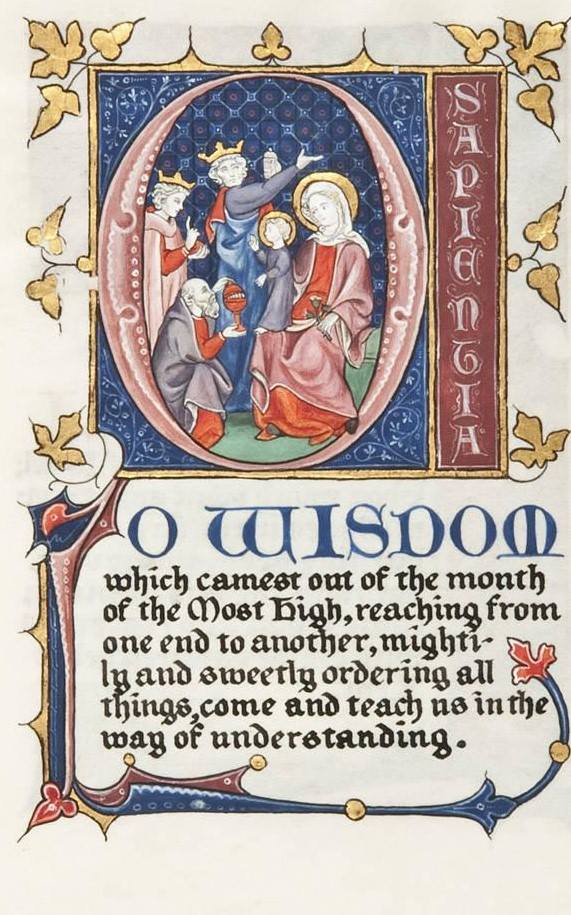 Praying the O Antiphons