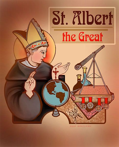 Saint Albert the Great (1200-1280)