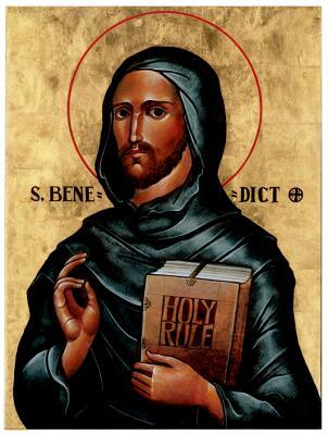 Solemnity of Our Holy Father Saint Benedict (c.480-547)