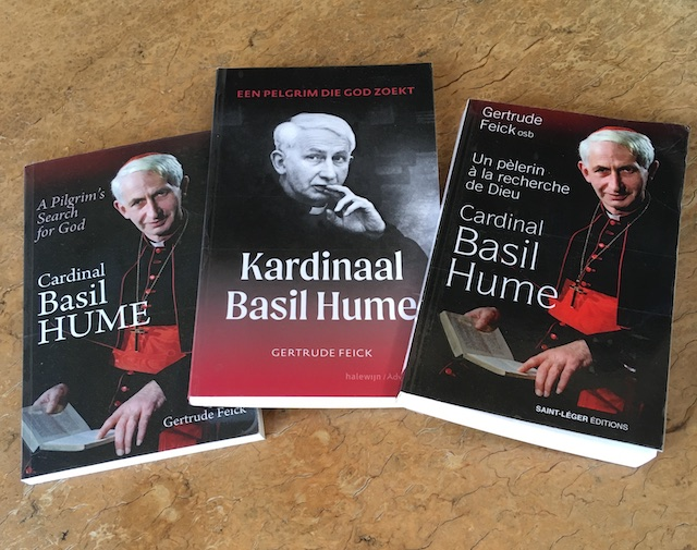 New Translations of Cardinal Basil Hume: A Pilgrim's Search for God