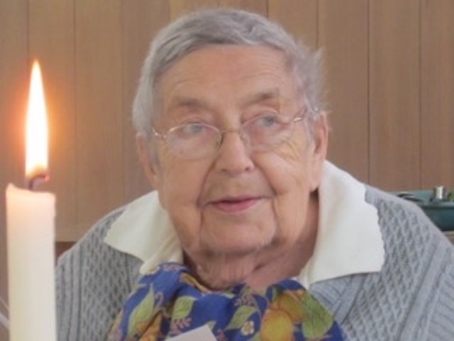 Sr. Godelieve Theys. OCSO, June 4, 1923 - June 16, 2019